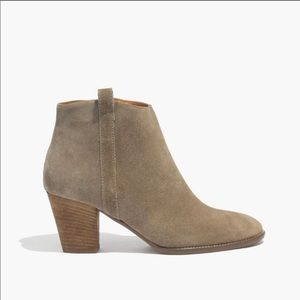 Madewell The Billie Boot Booties size 11